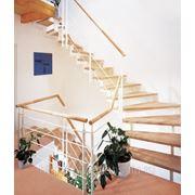 Лестница комбинированная фото