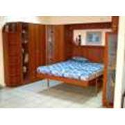 Подъемная кровать 2-спальная фото