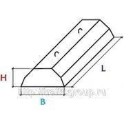 Плиты ленточных фундаментов из тяжелого бетона ФЛ-10-12-4 фото