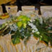 Оформление цветами фото