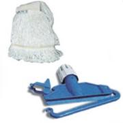 Тряпка и швабра для мокрой уборки из хлопка Wet Mop & Tool, арт. 404545 фото