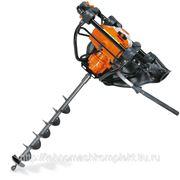 Мотобур ВТ121 Stihl(Германия)-1,8л.с 30,8см3 190об/мин бур200/260 вес 8,2кг фото