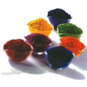 Образцы флуоресцентных пигментов, 6 цветов фото