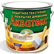 Акватекс Антисептик для дерева желтый 10л фото