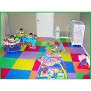 Мягкий пол для детских комнат: модульная плитка-пазл