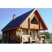 Деревянный дома для сезонного проживания