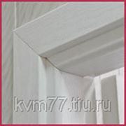 Наличник ПВХ 5шт. белый фото