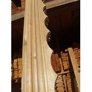 Наличник дверной резной 70,90,120мм., с сучками фото