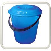 Ведра пластиковые круглые фото