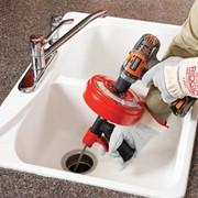 Прочистка раковин, ванн, внутренней канализации. фото