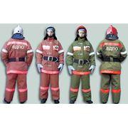 Боевая одежда для пожарных. фото