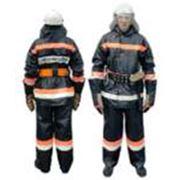 Боевая одежда пожарного из винилскожи фото