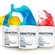Трафаретные краски пластизолевые, водные, силиконовые, вытравные PRINTOP фото