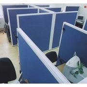 Перегородки офисные мобильные фото