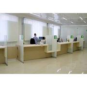 Мебель для банка стойки операцмонистов банка фото