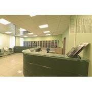Мебель для банков стойки фото