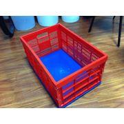 Тара и упаковка. Потребительская тара. Ящики из пластика полиэтилена. Ящики полимерные фото