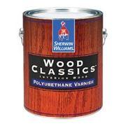 Wood Classics® Polyurethane Varnish - высокопрочный полиуретан-алкидный интерьерный лак по дереву фото