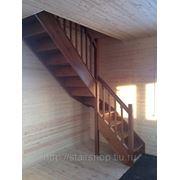 Лестница для коттеджа фото