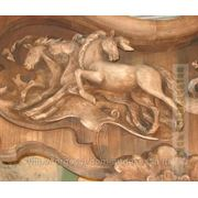 Резной декор из дерева фото
