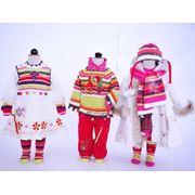 детское зимний трикотаж фото