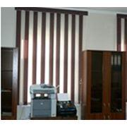 Вертикальные тканевые жалюзи фото