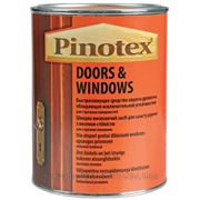Пинотекс Пинотекс для дверей и окон средство декоративное (3 л) махагон (красное дерево) фото