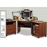 Стол компьютерный СУ-1 фото