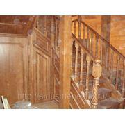 Лестница резная фото