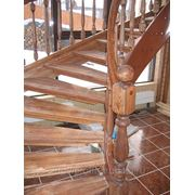Лестница из массива.