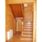 Лестницы из ясеня цена фото