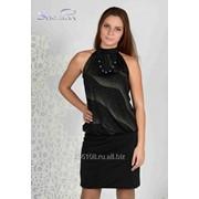 Платье 1751-1 Чёрный цвет фото