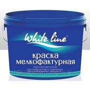Краска водно-дисперсионная фактурная «эффект шуба» под валик «WHITE LINE» 7кг. фото