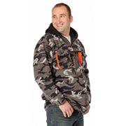 Евроспецодежда куртка Эмертон флисовая камуфляжная фото