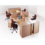 Офисная мебель столы стулья шкафы фото