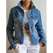 Куртки джинсовые фото