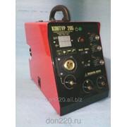 Сварочный полуавтомат Контур 205, инверторный, вес 8кг, сеть 160-250 вольт