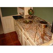 Столешницы для ванной из мрамора фото