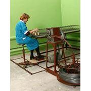 Машина для сшивания пружин фото