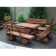 Столы деревянные из массива фото