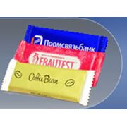 Шоколад с логотипом фото
