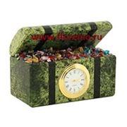 Настольные часы «Сундучок» фото