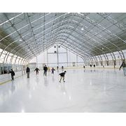 Площадка хоккейная крытая фото