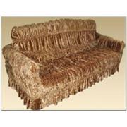 Чехлы на мягкую мебель Велюр на резинках фото