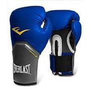 Перчатки боксерские Everlast Pro Style Elite 2212E 12 унций синие фото