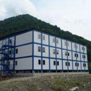 Здания из модульных панелей фото