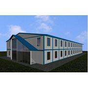 Строительные комплексы - модульные здания. фото