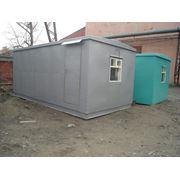 Мобильное здание вагон-офис фото