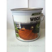 Масло WOCA для наружного использования, тик (Exterior Oil, Teak), 2,5 л. фото