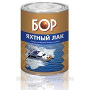 Лак ЯХТНЫЙ матовый бесцветный «БОР» 1 л. фото